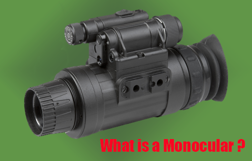 Advantages of a monocular over  spotting scopes, binoculars and other types of optics. - September 30, 2020